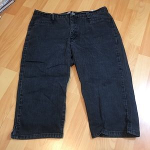 Dark Blue Lee Jean Shorts 14